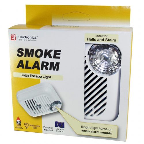 Smoke Alarm EI100LWX Battery Smoke Alarm With Built in Light